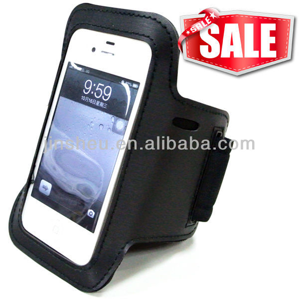 Wholesale marathon race custom phone case sports arm bag