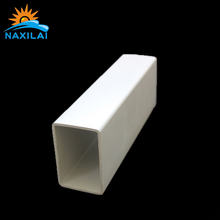 corrosion resistance pvc rectangular pipe for water walking