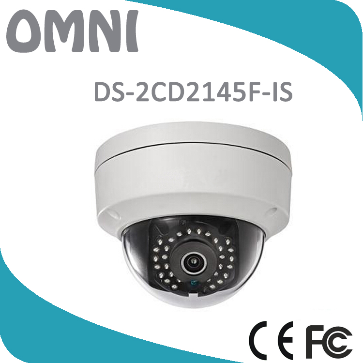 Hik DS-2CD2145F-IS 4MM 4MP Network IP Camera POE H.265 IP66 SD Audio