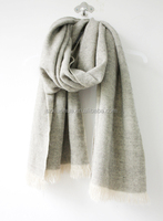 Fashion new design acrylic solid scarf/pashmina Fashion new design acrylic solid scarf/pashmina