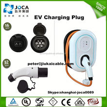 Dostar SAE J1772 IEC 62196 type 1 to type 2 ev charging connector plug