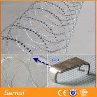 Shengmai Low Price Concertina Razor Barbed Wire/Razor Wire Installation
