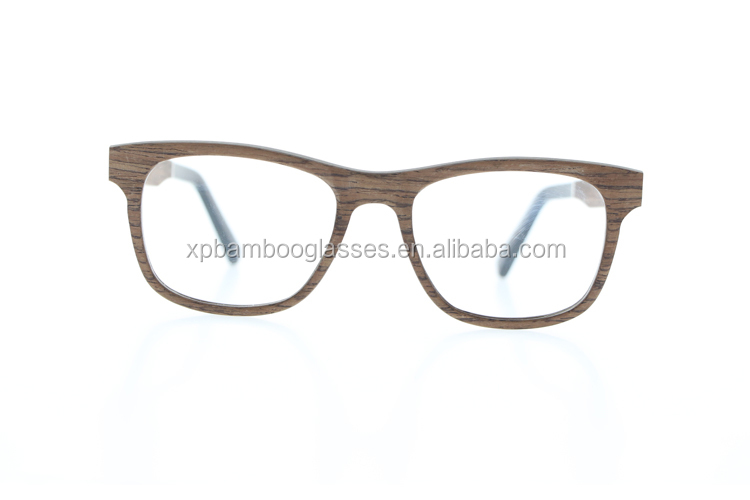 Ready Stock Fashion Handmade Changeable lens Men Wood Eye Optical Glasses Frame