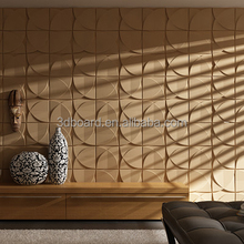 Modern Wallpaper Decorative Leather 3D Wall Panels for Bedroom Decorating