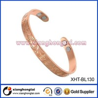 Unisex Bio Copper Magnetic Therapy Bracelet Arthritis Pain Relief wrist band