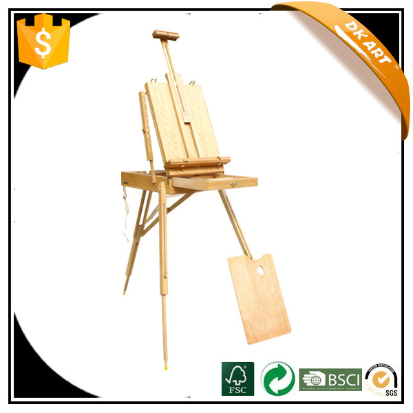 Sketch box Studio Art Sketch Artist Adjust Wooden Easel Stand