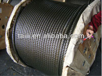 galvanized steel wire rope 8mm and 10mm