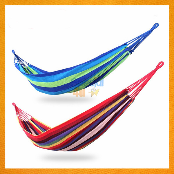 YKSP-161 2017 Trending Products Cheap Single Outdoor Hammock Cotton Hammock Vietnam Style Portable Hammock Camping Accessories