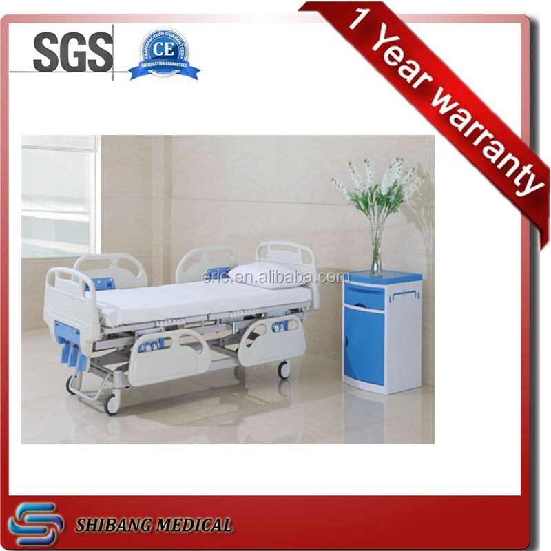 (CE,ISO Approve) SJ-YM001 3-Crank Hospital Bed Manual Hospital bed Supplies,3-manivela cama manual invacare hospital bed