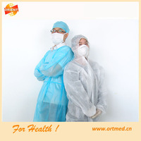 Disposable Gown, Nonwoven Smock, Disposble Garment