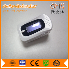 Portable fingertip clip oximeter with sleep apnea alarm indication