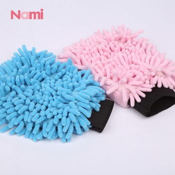 Microfiber Car Vehicle Cleaning Washing Chenille Mitten Glove