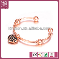 fashion design bracelet imitation jewelry branded stainless steel bangle
