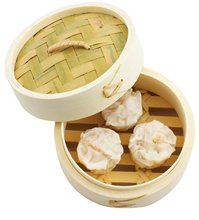 Mini dim sum decorative bamboo steamer basket