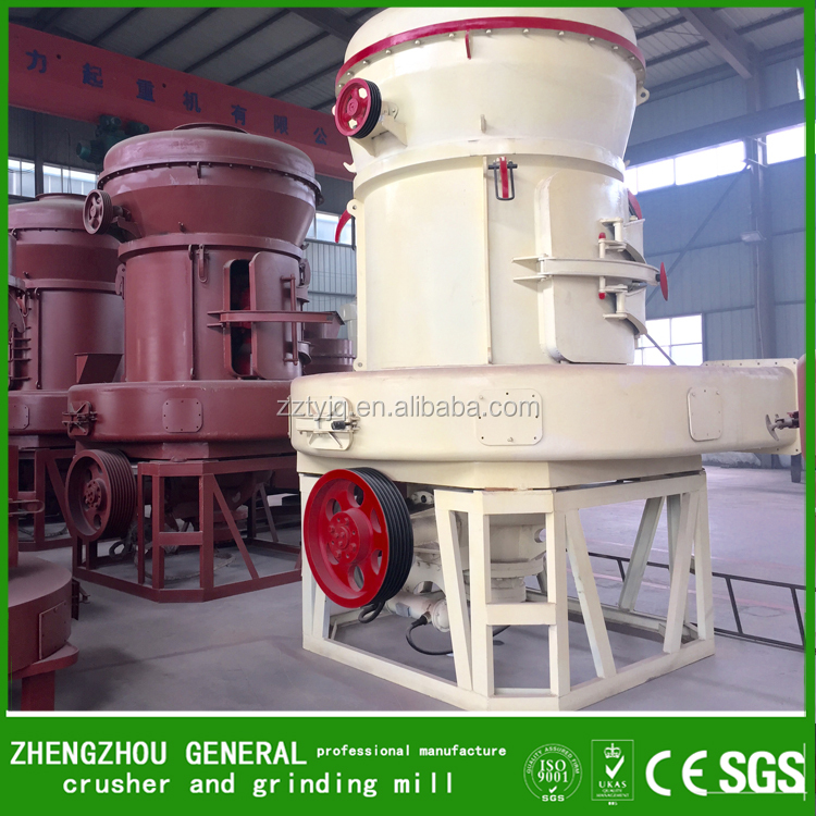 china high efficiency Portable fine chemical powder making machine 50 tph raymond grinding mill for sale