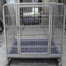 Factory used chain link portable modular 72*94*110cm fence dog cage for sale