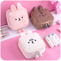 new style cute plush makeup bags cosmetic case China manufacturer