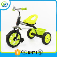 Steel frame cheap baby pedal tricycle