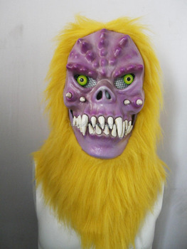 Moving Mouth Person Mask for Holloween Party - Monster001