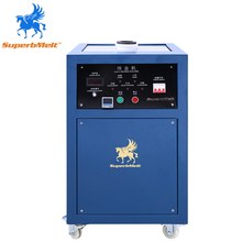 IGBT 25kw gold induction melting furnace for 8kg to 12kg precious metals