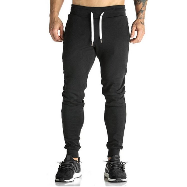 Wholesale custom jogger sweatpants blank gym joggers men custom jogger suit