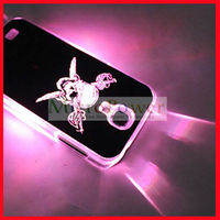 Pirate Skull Knife Calling Flash Back Cover Case for Samsung Galaxy 4 i9500