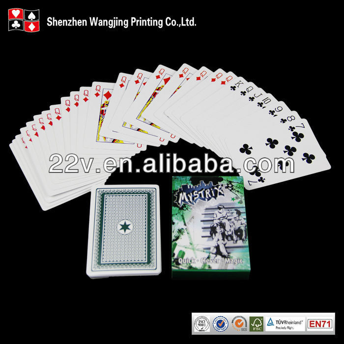 large print playing cards,playing card printing service