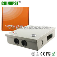 3.2A 4 Channels metal box cctv camera power supply PST-CA04