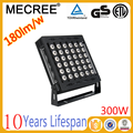 DMX RGB 3 color change outdoor 300w led flood light