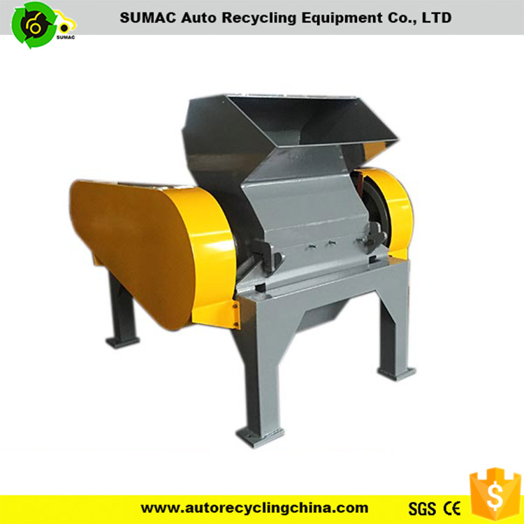 Rubber /plastic shredder machinery/waste tire recycling line