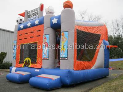 Sports Arena 5 in 1 Combo, commercial bouncy house for kids