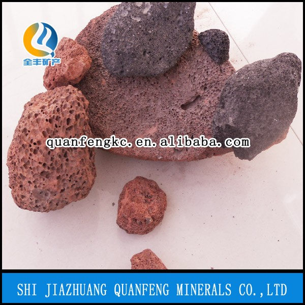 Volcanic stones for garden and horticulture