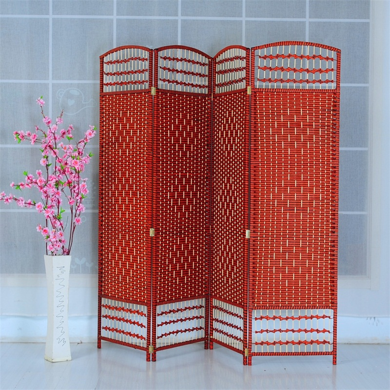 Folding Carved Wooden MDF Decorative Screen Panel