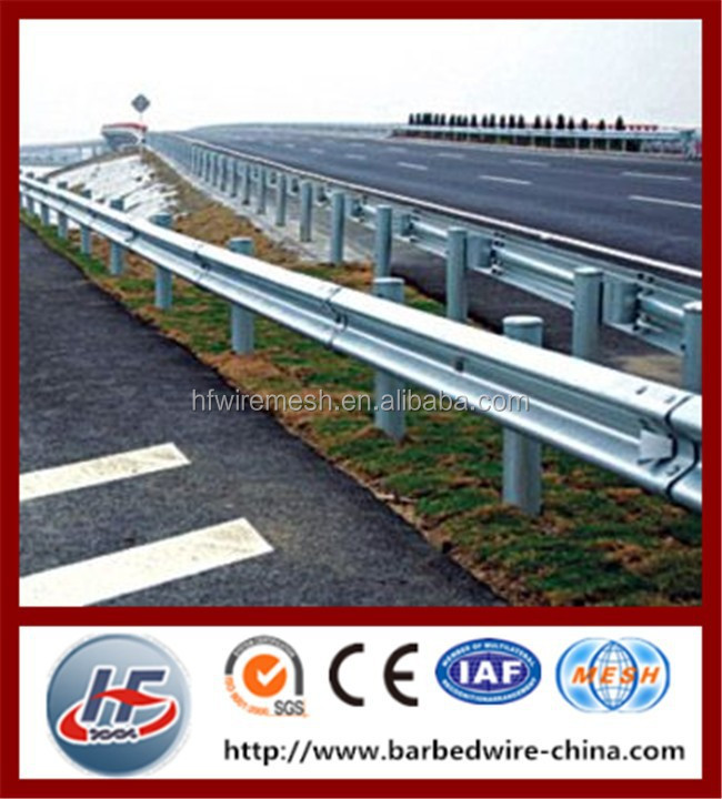 Hot Dip Galvanized Steel Highway Guard Rail Price,Guard Rails for Traffic Safety,galvanized guard railing W beam