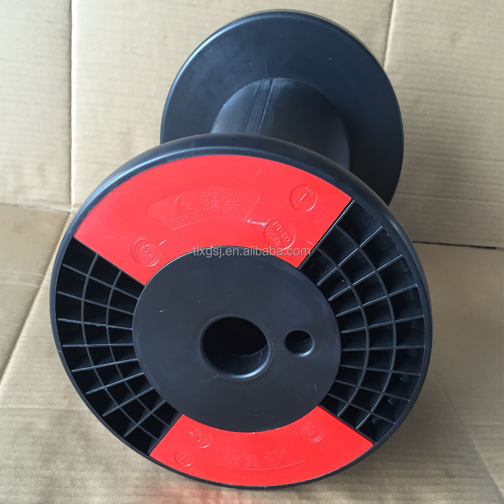 Empty plastic spool for super enamelled copper winding wire