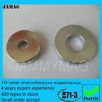Diametrically Magnetized Large Ring Magnets for Sale