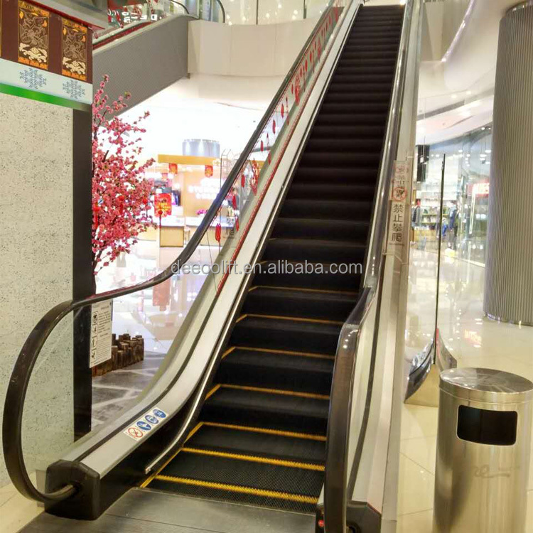 35 Degree 1000mm Step Width Passenger stairs Escalator cost