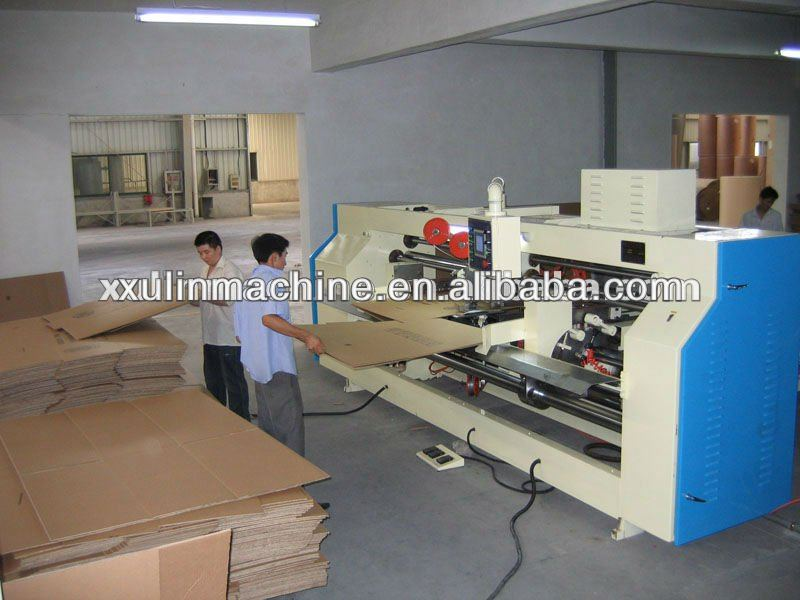 carton stapler stitching stapling stitcher machine