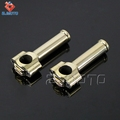 New Arrival ZJMOTO High Quality Brass 1'' Motorcycle Handlebar Riser For Sale