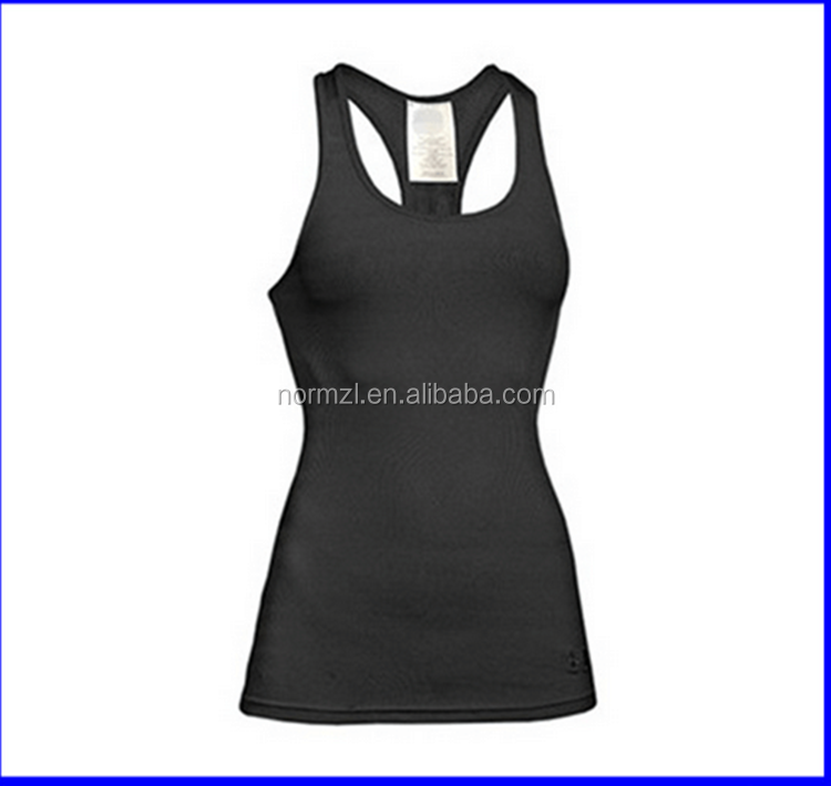 Dry fit polyester yoga clothing tank tops manufacturer
