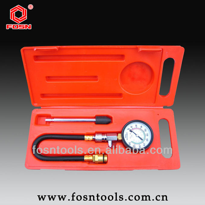 FS2143 Compression Tester with quick disconnect - Automotive repair tool test for petrol car