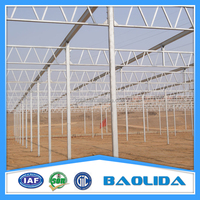 Galvanized Steel Pipes Green House Covered