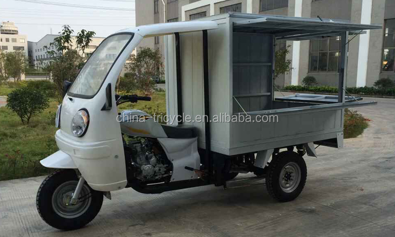 3 Wheel Motorcycle for Food Delivery