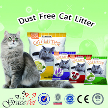 2016 natural clay cat litter cat sand of pet product