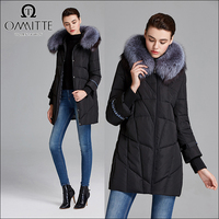 Ommitte professional supply Russion fashion 100% cotton fabric young ladies winter coats