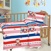 6pcs Cotton Crib Baby Bedding Set Suitable for Baby Cot,New Bed Sheet Design