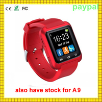 hot selling bluetooth phone and music sport monitor a9 smart watch