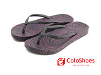 2013 New style! screen printing pvc strap pcu sole pakistani latest ladies footwear