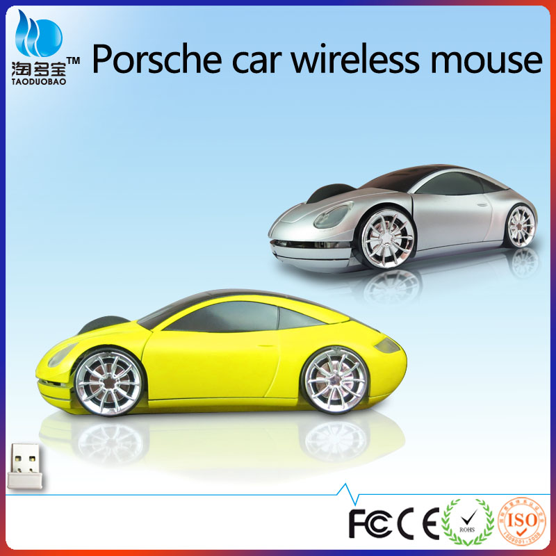 VMW-14 fashion sport car shaped 2.4ghz wireless mouse optical computer