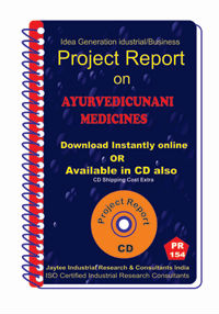Project Report On Ayurvedic Unani Medicines